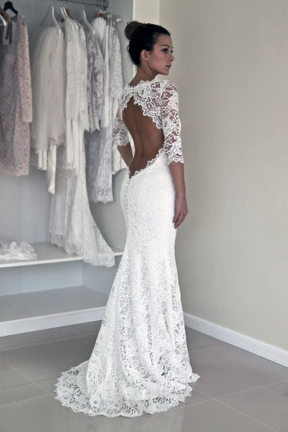 Backless Wedding Dress – All The Types There Are – Carey Fashion