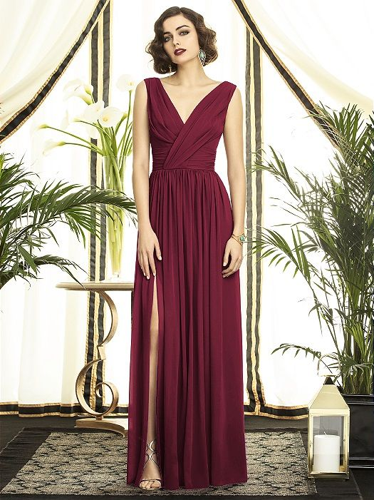 Burgundy Bridesmaid Dresses Types Ideas And Styles