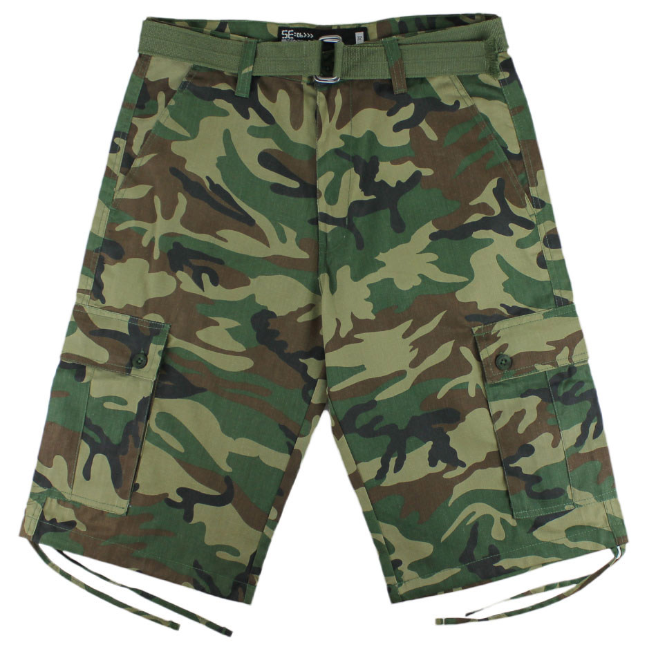 Camo Cargo Shorts Outfits for Men and Women u2013 Carey Fashion