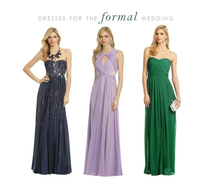 Types Of Formal Dress For Wedding Carey Fashion