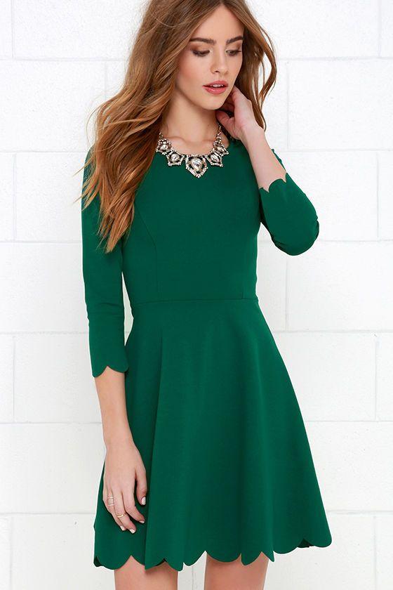 Soft Pleated Midi Dress