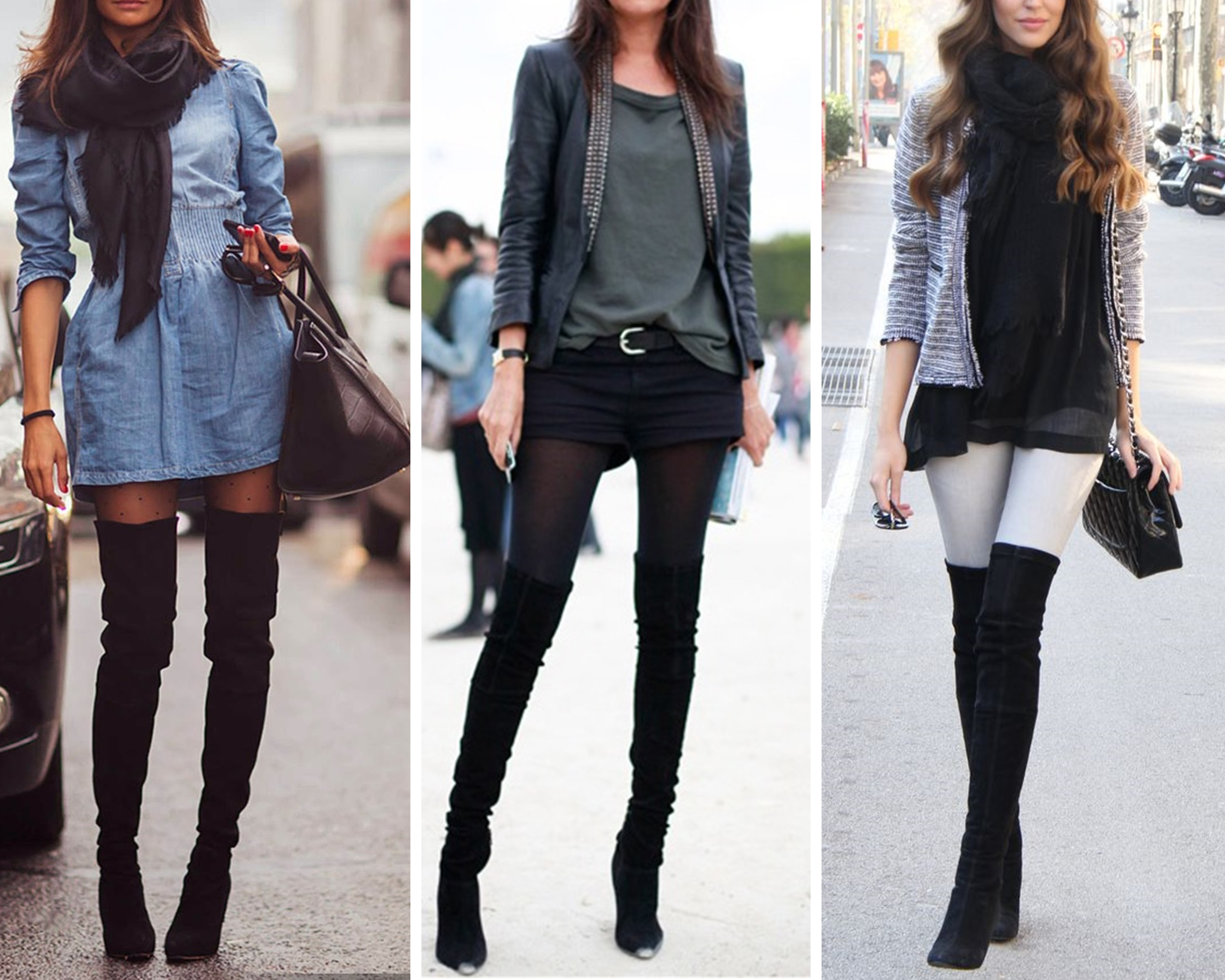 How to Rock Knee Boots – Some Tips – Carey Fashion