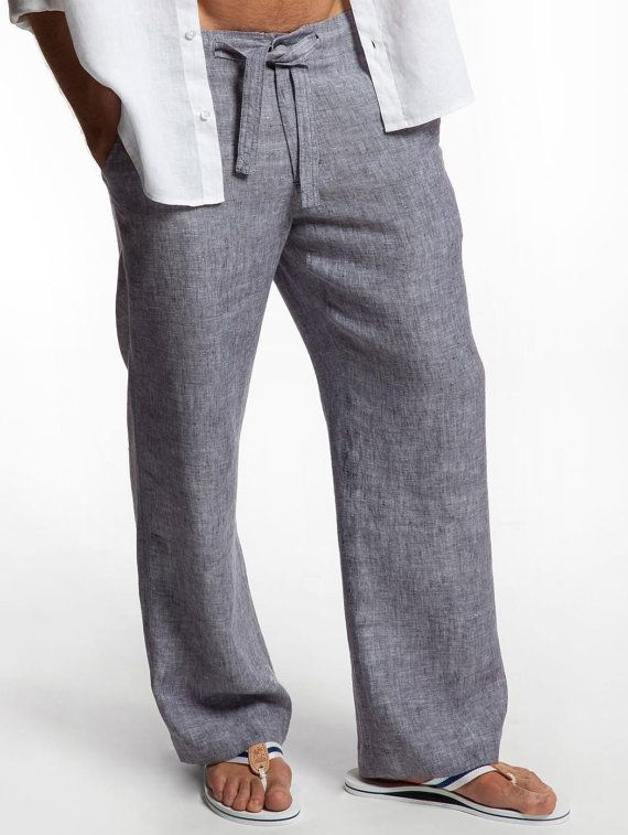 5 ways to wear linen pants for men this summer carey fashion for Mens summer linen shirts