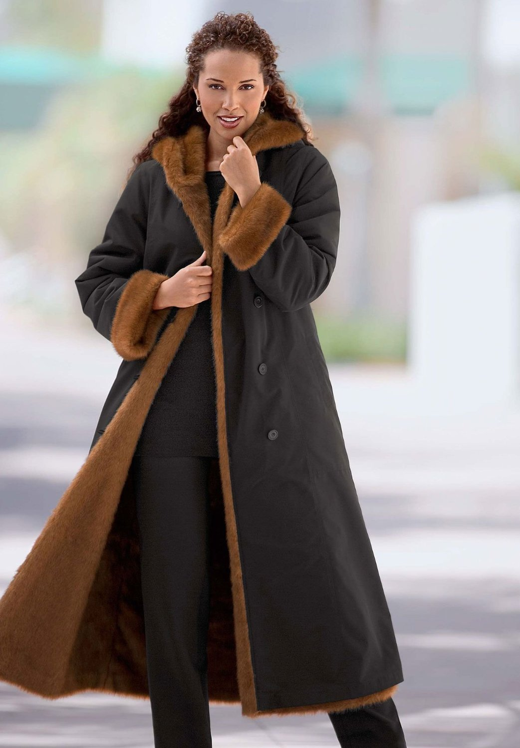 Long Winter Womens Coats