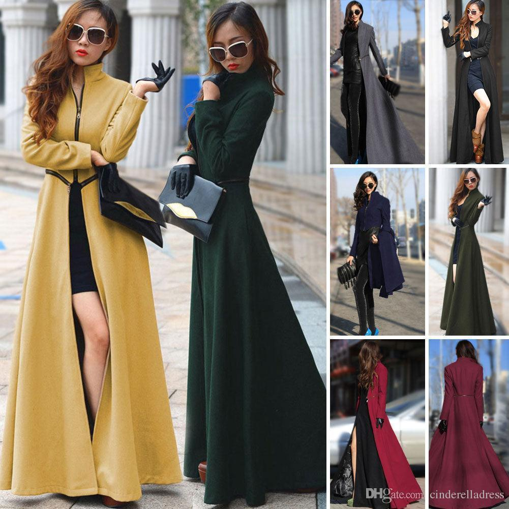 Long winter coats women