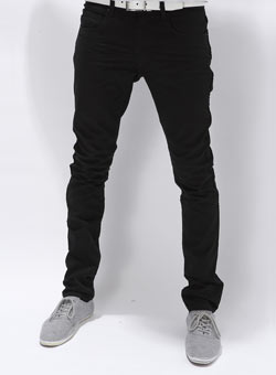 Mens Black Skinny Jeans – Comfy and Casual – Carey Fashion