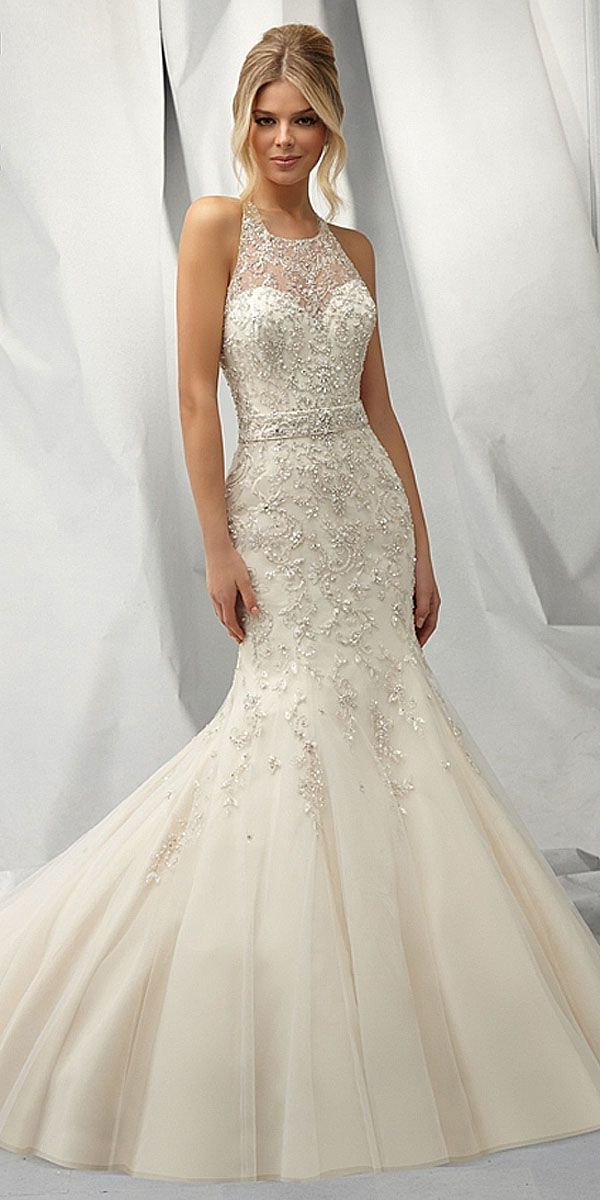 How To Style Mermaid Wedding Gowns On Petite Brides – Carey Fashion