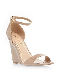 Nude Wedge Shoes – Grab Your Pair – Carey Fashion
