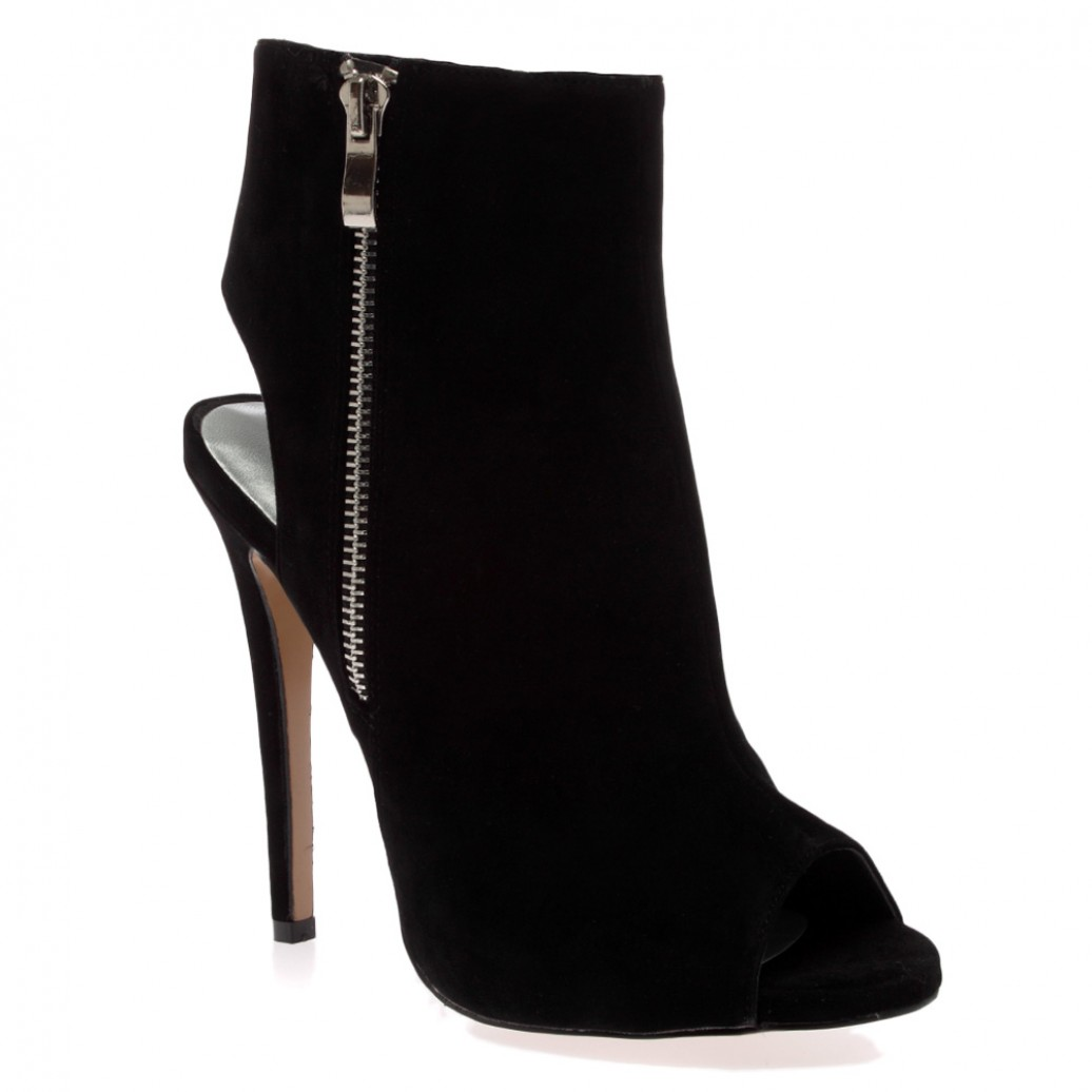 Peep Toe Ankle Boots – The Cutest, The Prettiest – Carey Fashion