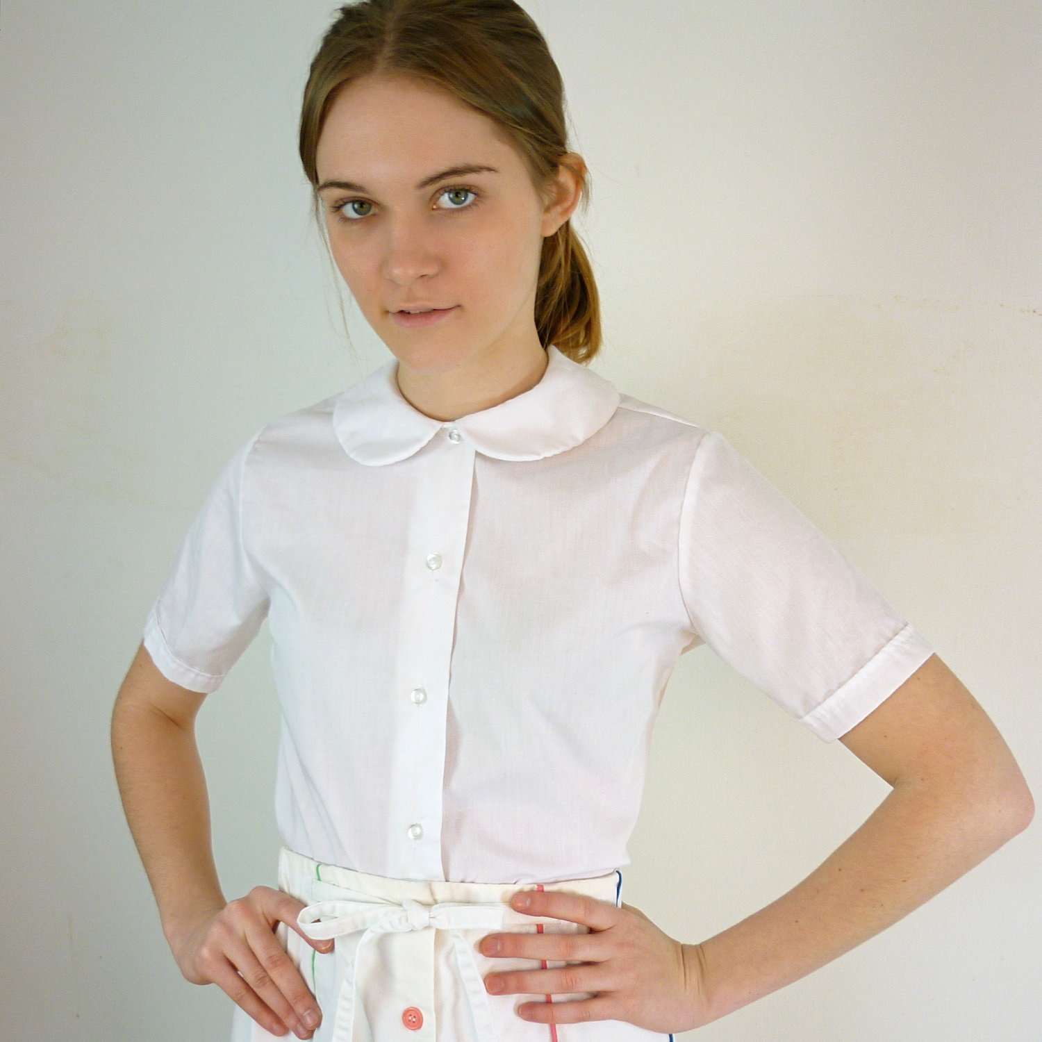 Find great deals on eBay for peter pan collar blouse. Shop with confidence.