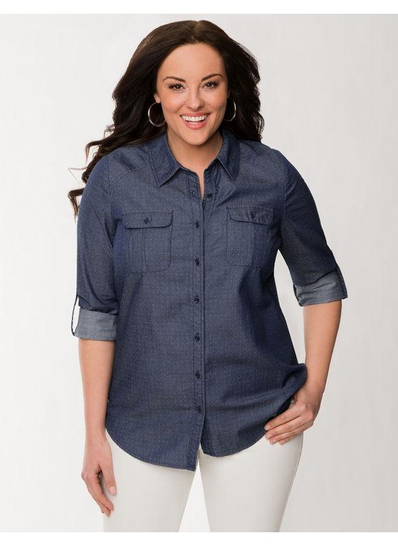gorgeous plus size denim shirt outfits � carey fashion