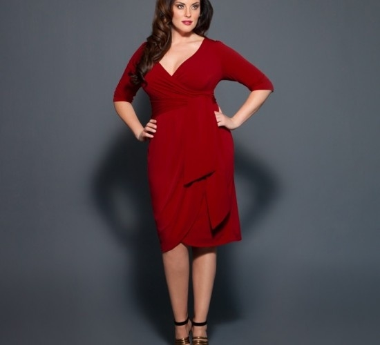 Plus Red Dresses