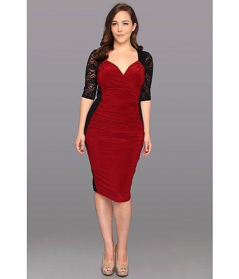 Plus Size Red Dress Vs Little Black Dress Carey Fashion