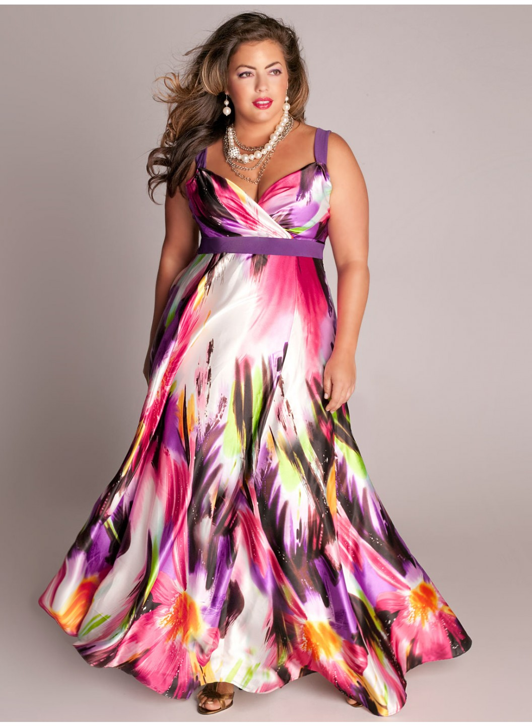 Colorful Plus Size Dresses