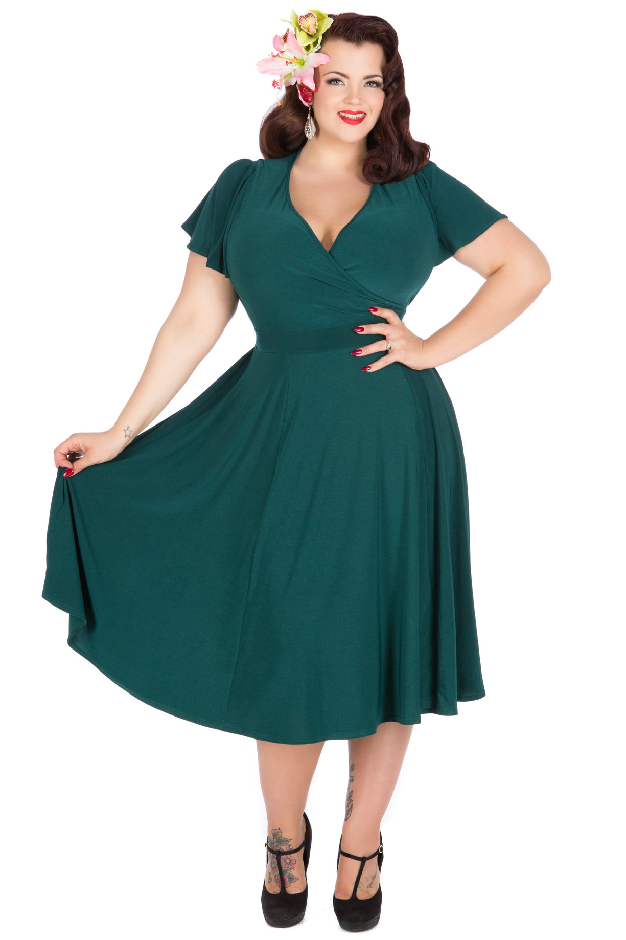 More Vintage plus size gowns