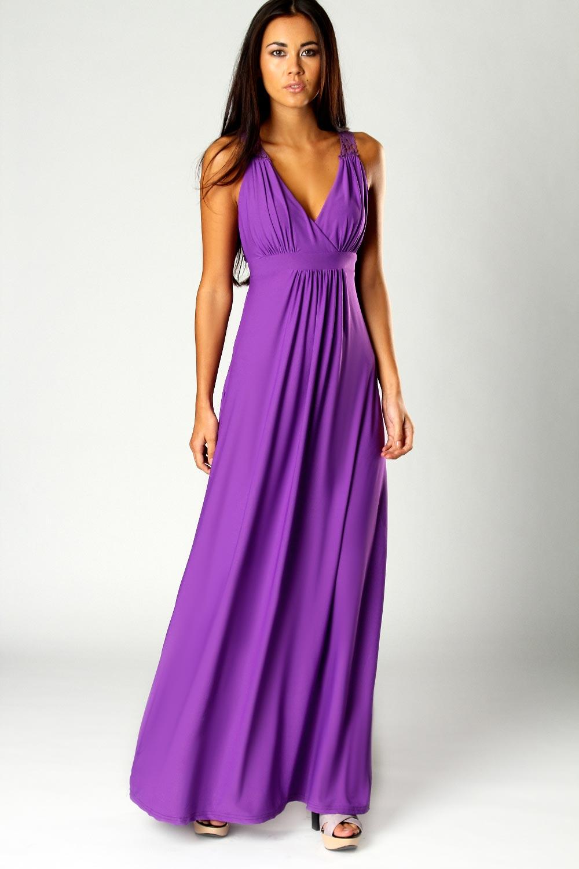 Galerry casual purple maxi