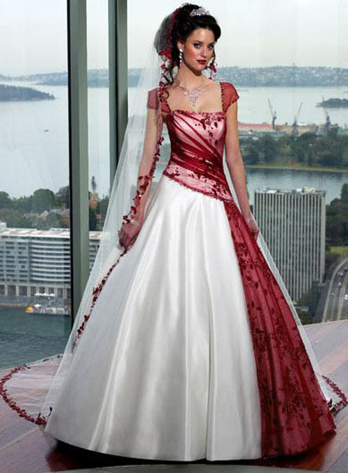 Red and White Wedding Dresses: Why're They Special? – Carey Fashion