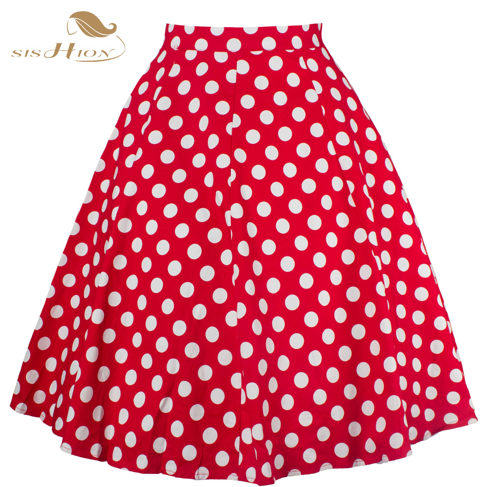 Check Out The Chicest Red Polka Dot Skirt Outfits Carey