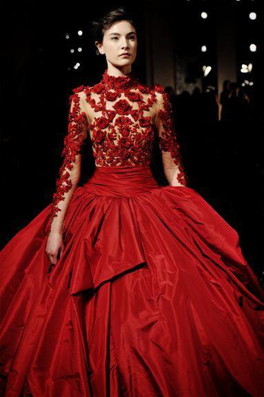 red wedding dress – 9 – Carey Fashion