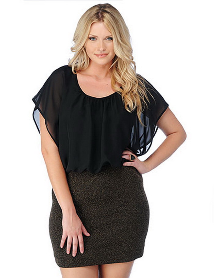 Erotic clothing for plus size