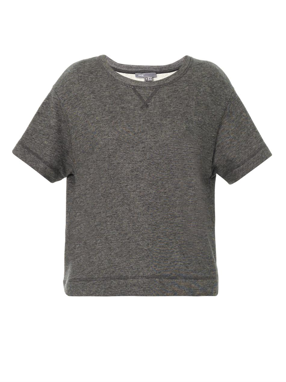 Short Sleeve Sweatshirt – Follow The Trends – Carey Fashion