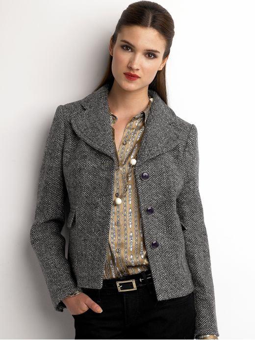 How To Confidently Wear Tweed Jacket Women U2013 Carey Fashion