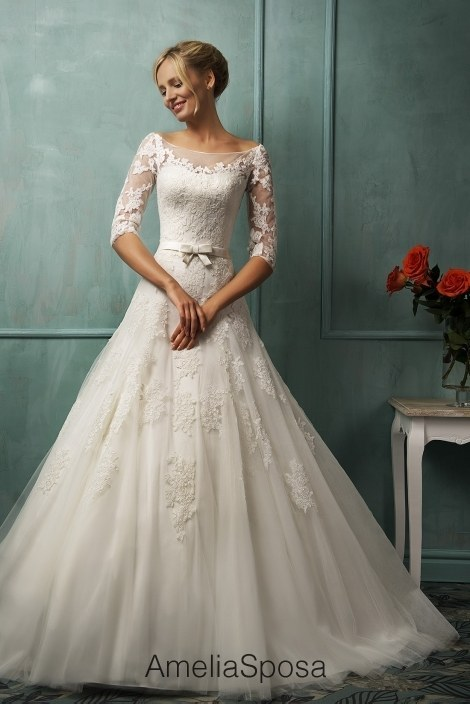 Wedding gowns with sleeves elegance at its finest carey fashion you want to make sure the dress suits with the theme and style but with wedding gowns with sleeves you can sit and take a breather junglespirit Gallery