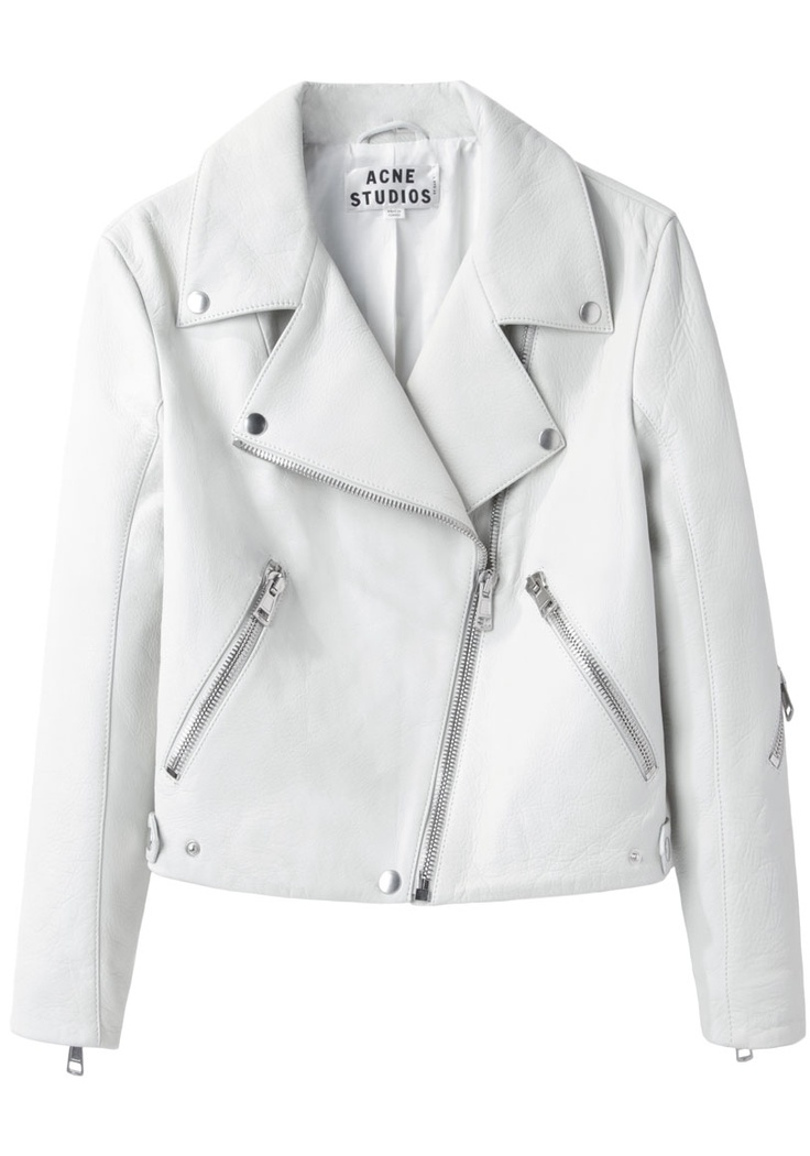 How to Remove Stains From Your White Leather Jacket – Carey Fashion