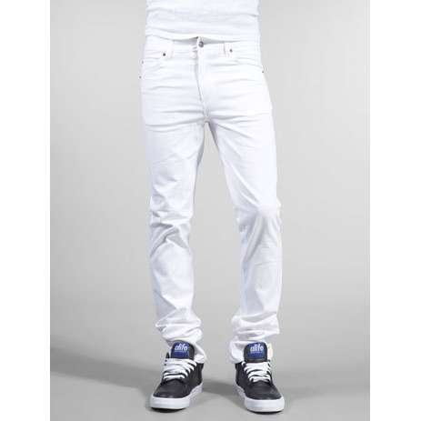 Pull Off White Skinny Jeans (For Men) – Carey Fashion