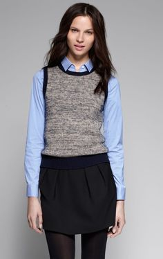 Best Womens Sweater Vest Looks Carey Fashion