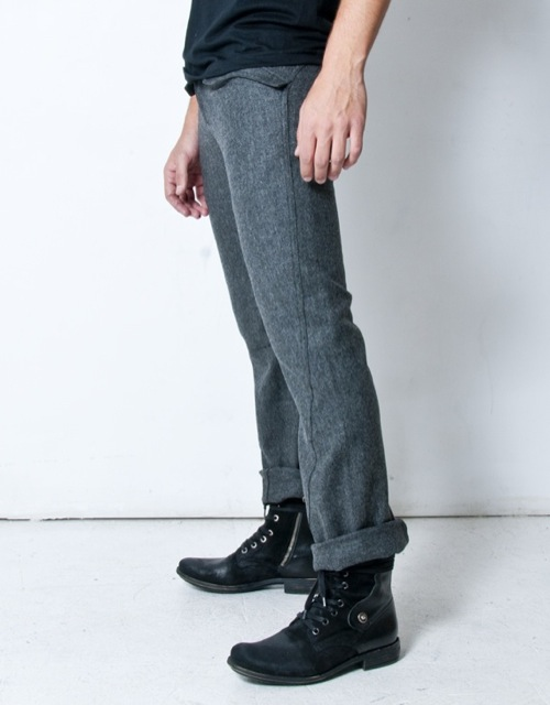 Sophisticated Wool Pants For Men – Carey Fashion