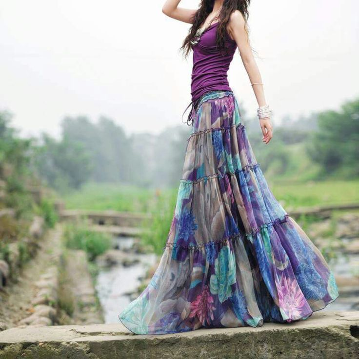 Bohemian Skirts U2013 How To Wear Them U2013 Carey Fashion
