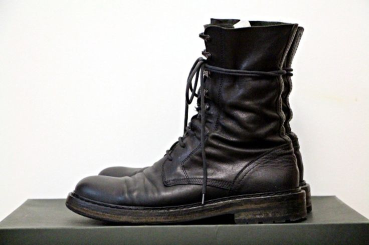 ANN DEMEULEMEESTER Leather Boots Sale Pick A Best Discount Affordable Really Sale Online With Mastercard Sale Online g4HCOCtaAj