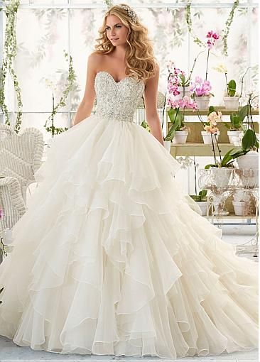 Ball Gown Wedding Dresses Advantages – careyfashion.com