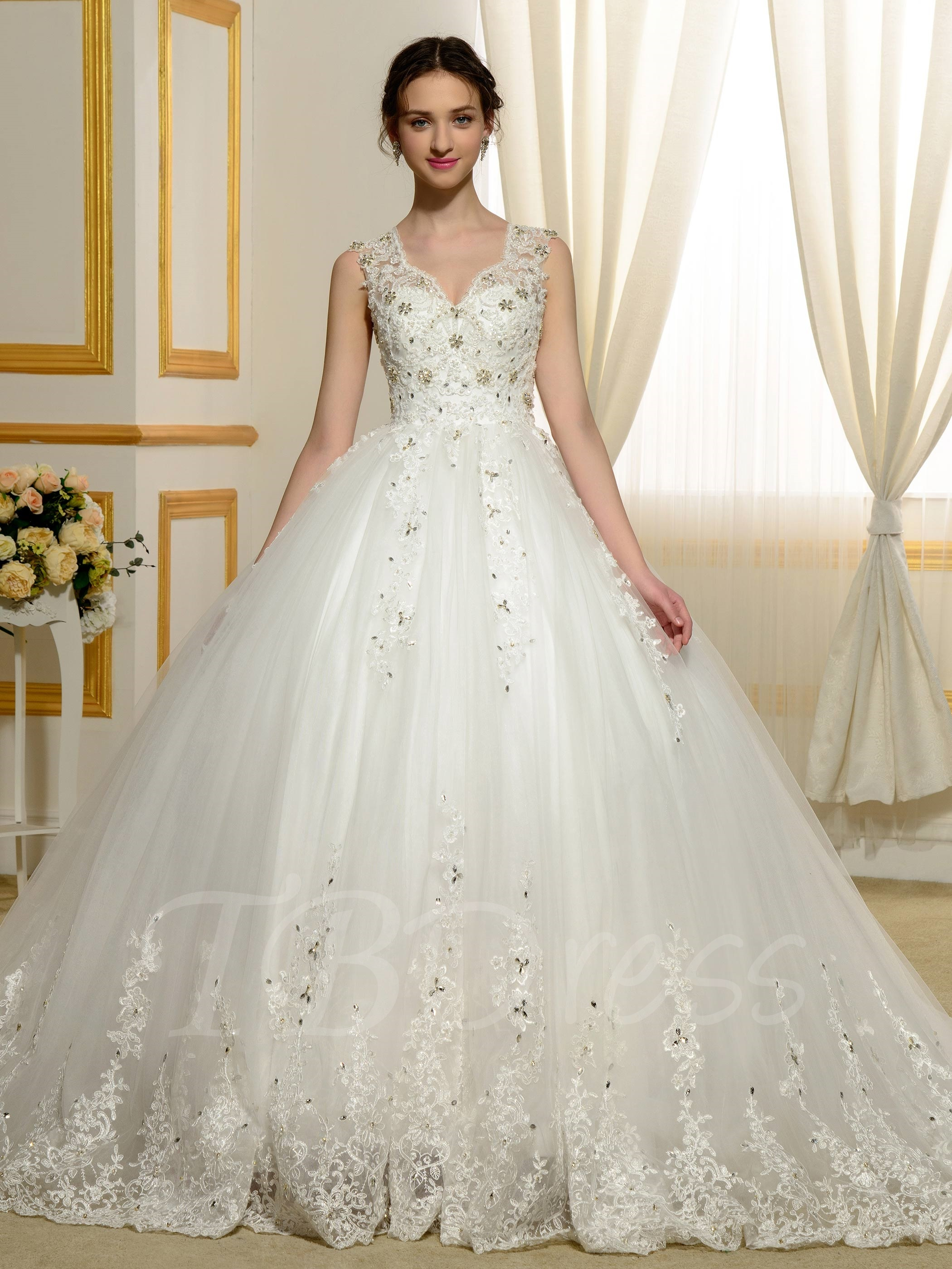 Ball Gown Wedding Dresses Advantages careyfashioncom