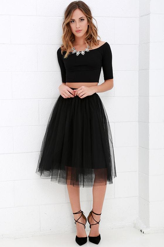 How to Wear A Black Tulle Skirt Professionally u2013 careyfashion.com
