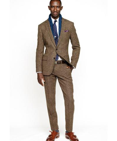 What Shoes to Wear With A Brown Suit – careyfashion.com