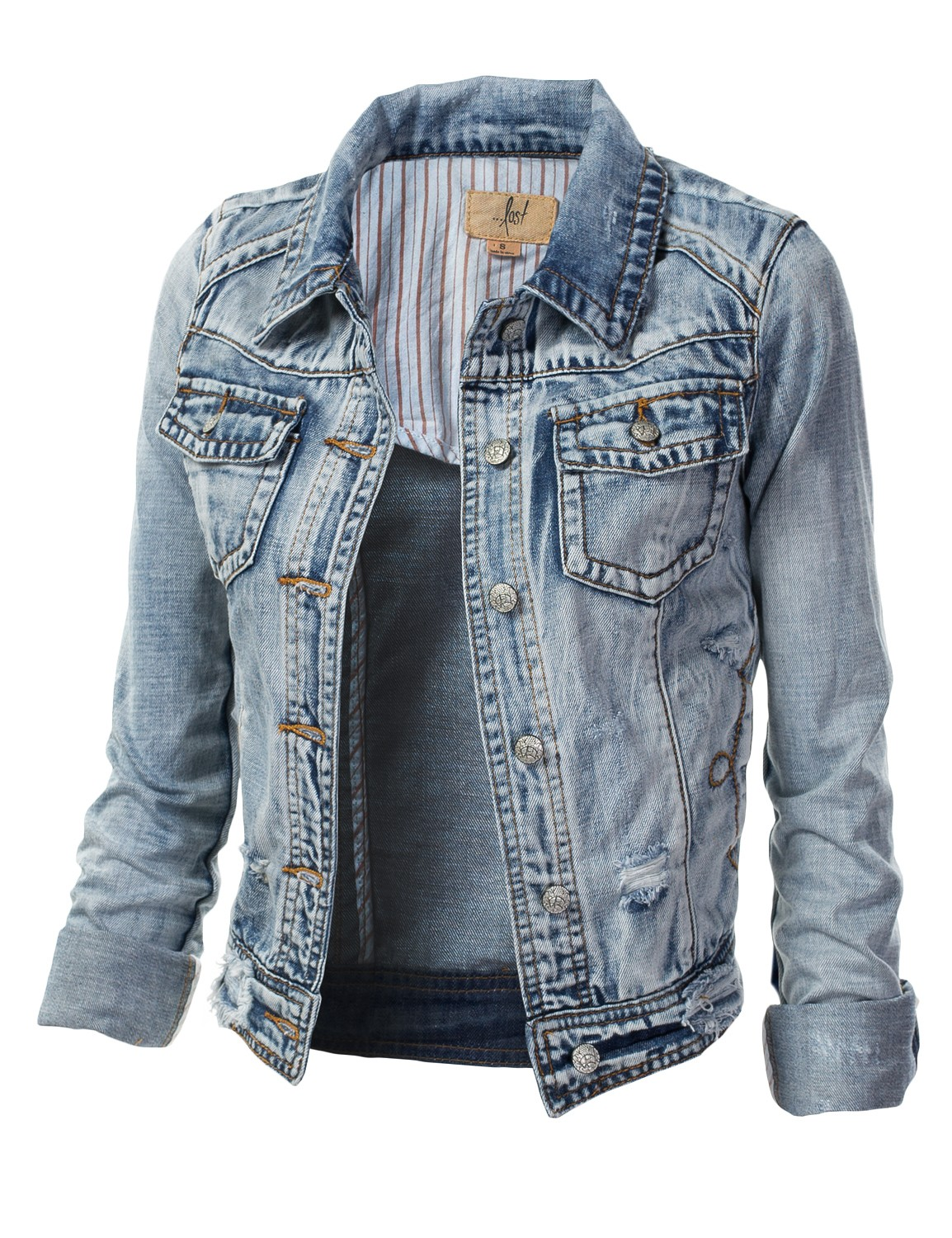 Shop for jean & denim jackets for women at getson.ga Browse women's jean & denim jackets & vests from top brands like Topshop, Levi's, Hudson & more. Free shipping & returns.