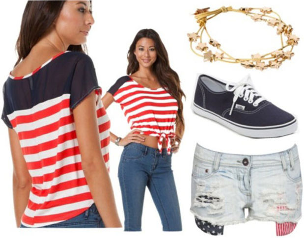 9e7a10a4c27 Super Creative Fourth Of July Outfits Careyfashioncom