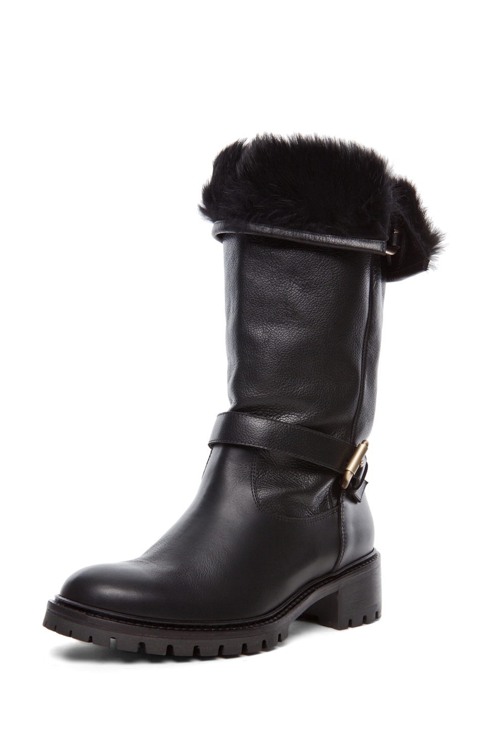The North Face Stormkat Womens Cold-Weather Faux Fur Lined Winter Boots. Sold by BHFO. $ $ L'Amour Little Girls Black Suede Faux Fur Lining Ankle Boots Toddler. Sold by Sophias Style Boutique Inc. $ $