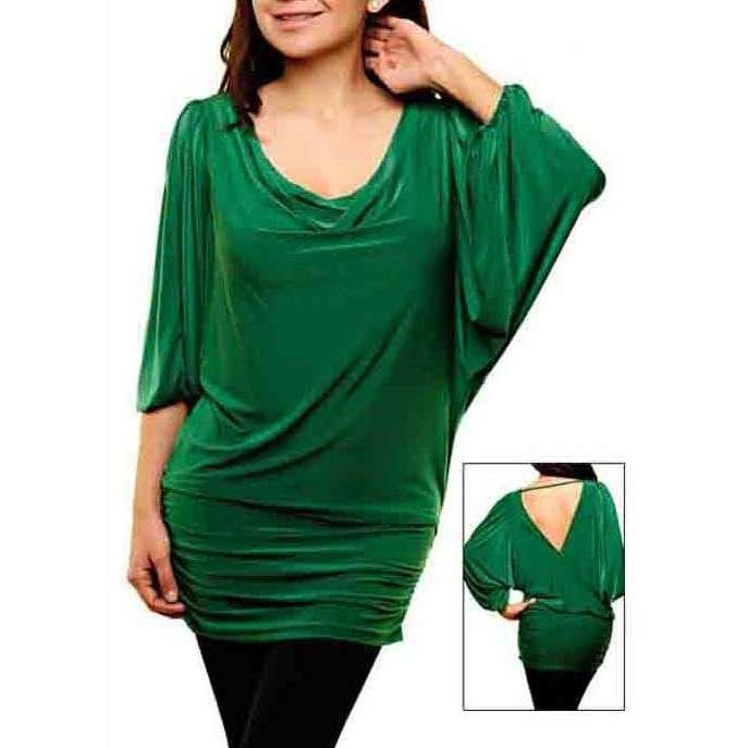 9 Delightful Latest Green Tops Designs For Women