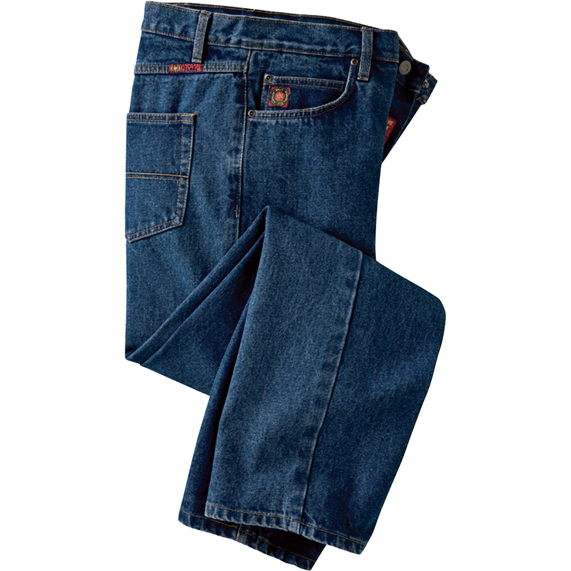 We are the pant fit experts and we have been designing jeans and pants for the plus size customer--our customer--for decades. Since we are solely focused on sizes 12WW, we don't start from a .