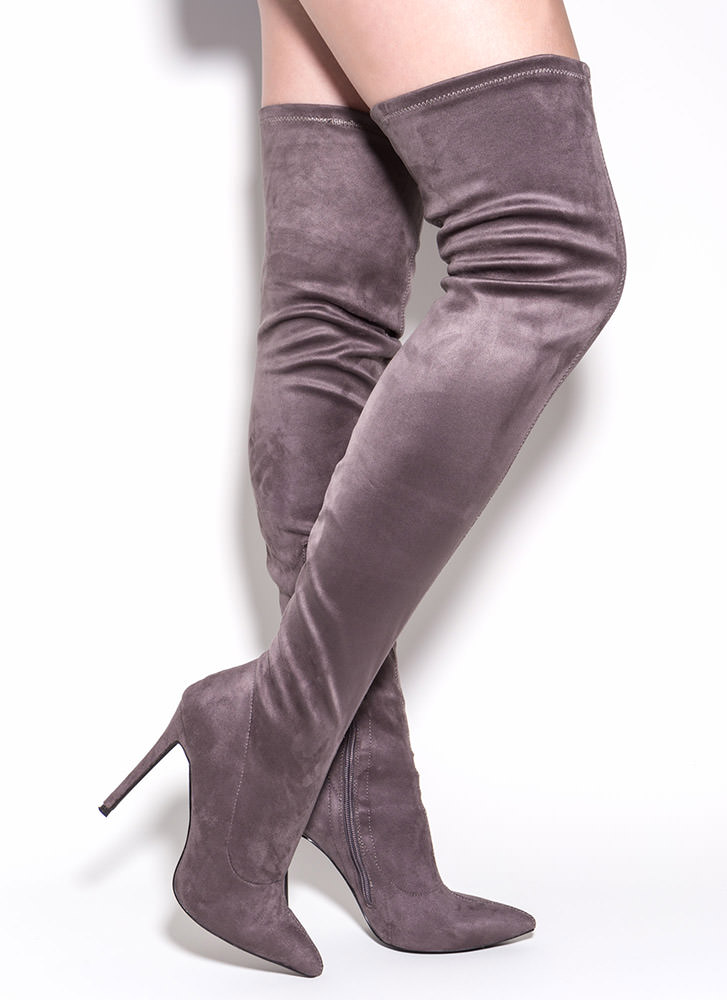 5cc00e56abe Knee High Heel Boots – The Sexiest Ways to Wear Them – careyfashion.com