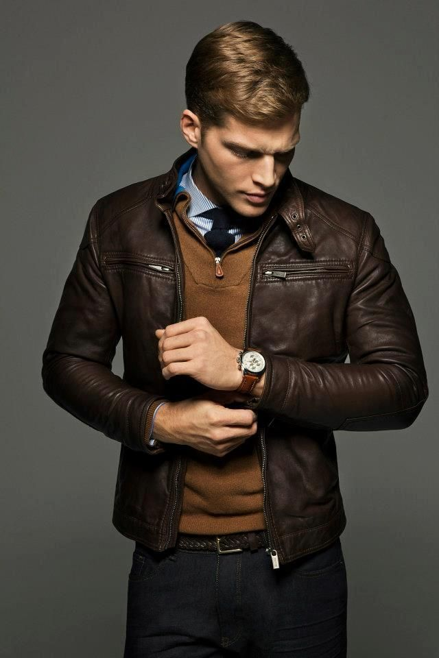 The Best Ways to Wear A Leather Jacket for Men – careyfashion.com
