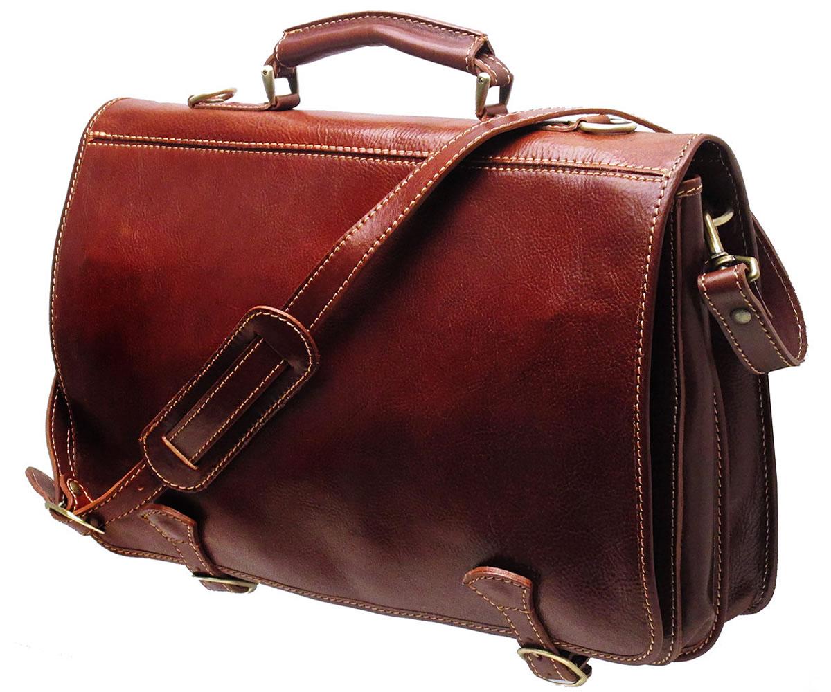 Leather Messenger Bag  Contemporary Vintage Ensembles – careyfashion.com