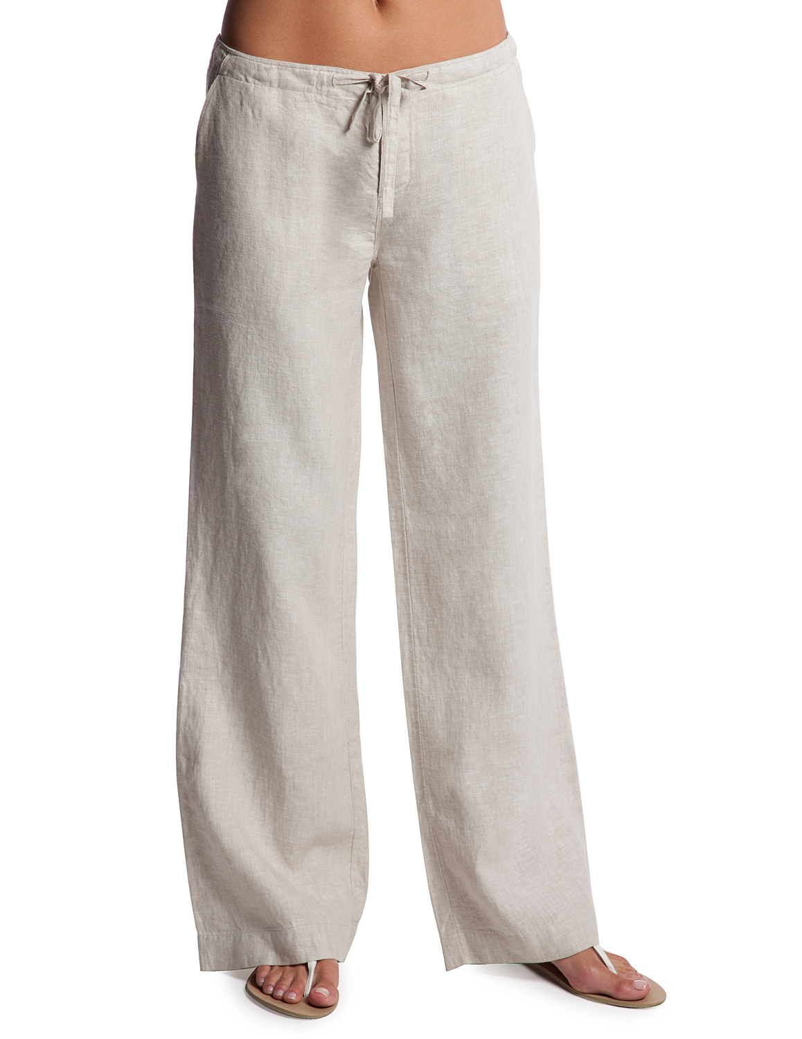 Popular White Linen Pants For Women  Relaxed Linen Pants  Island Company