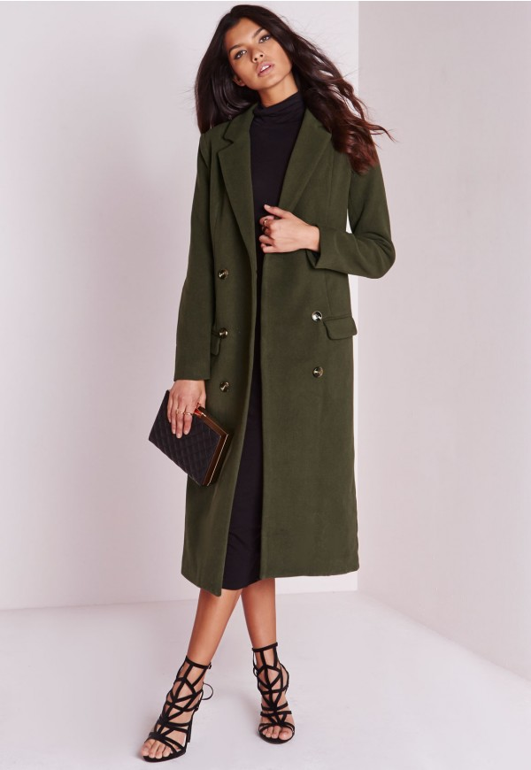 Opt for black skinny jeans (fold them up at the hem), black high neck top,  midi black leather booties, long black wool coat with a black hat. - Long Wool Coat: The Best Ways To Wear One – Careyfashion.com