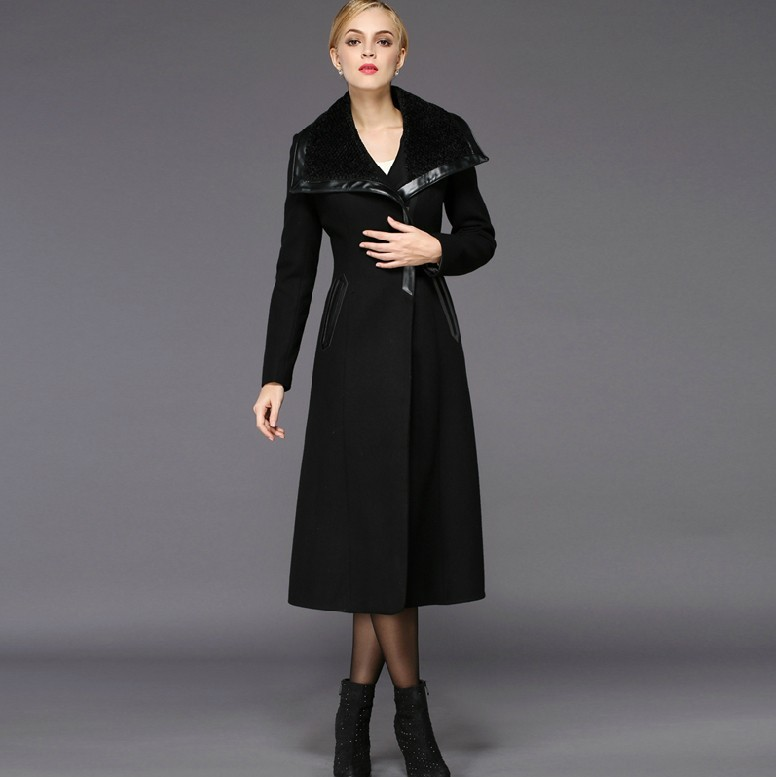 Long Wool Coats For Women | Down Coat