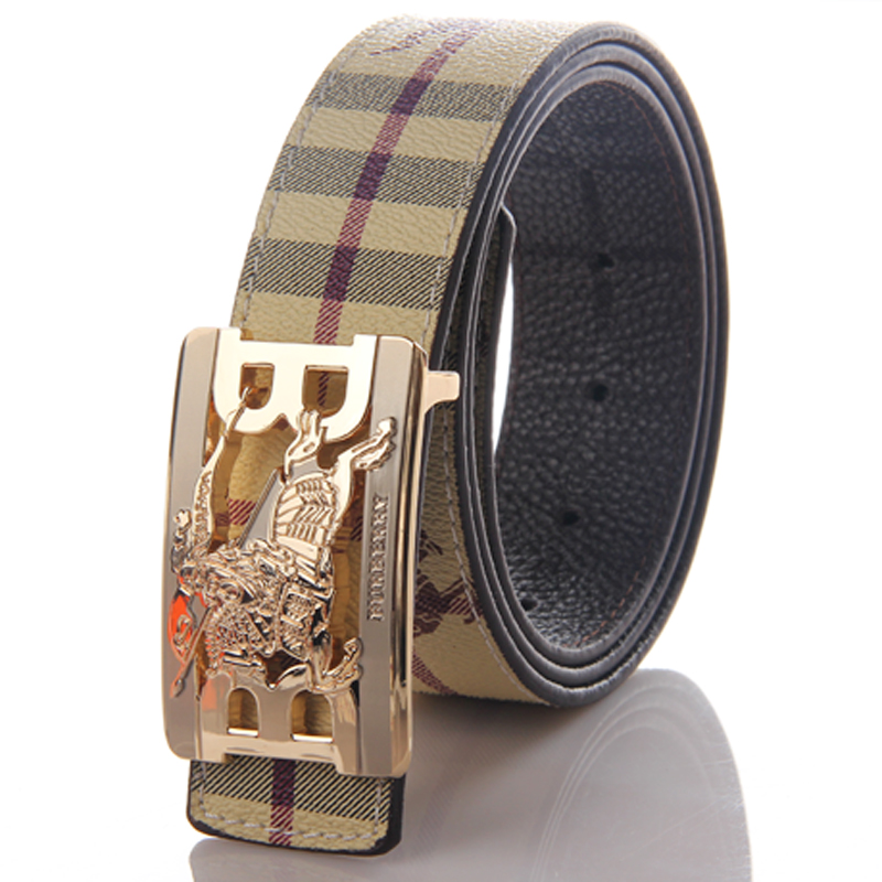 Designer Men's Belts Belts are more than just functional items these day — they can transform your look. Our edit features everything from Gucci's snake printed styles to fun measuring tape deigns from Maison Margiela to and fun creations from Fendi amongst many others.