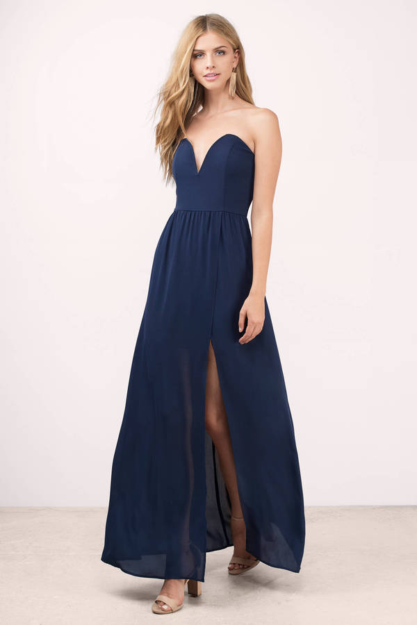Navy Blue Dresses Looks You Can Try Out Careyfashion